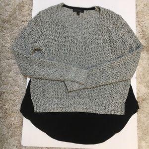 Banana Republic chunky knitted v neck sweater